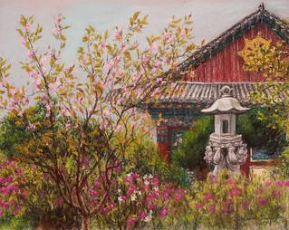 Bongwonsa Temple, Spring