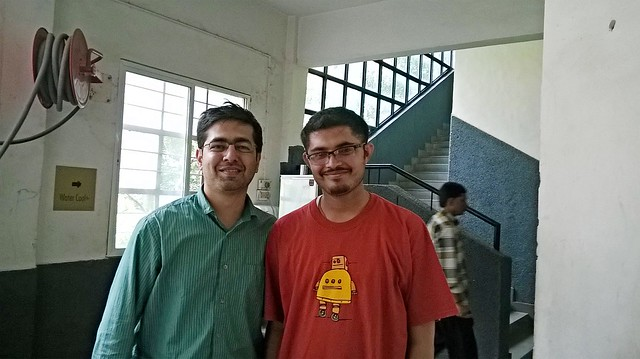 With Nishant Modak of IOT Pune