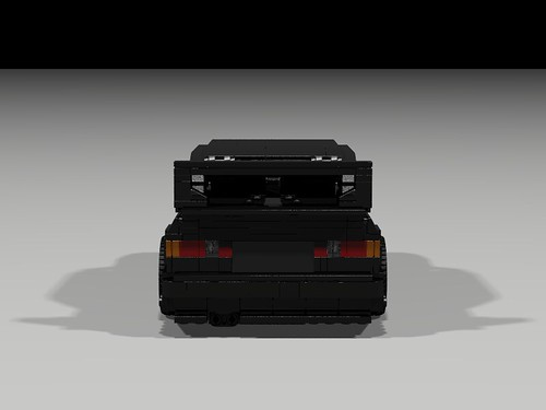 Lego 1990 Mercedes 190E Evo II - rear