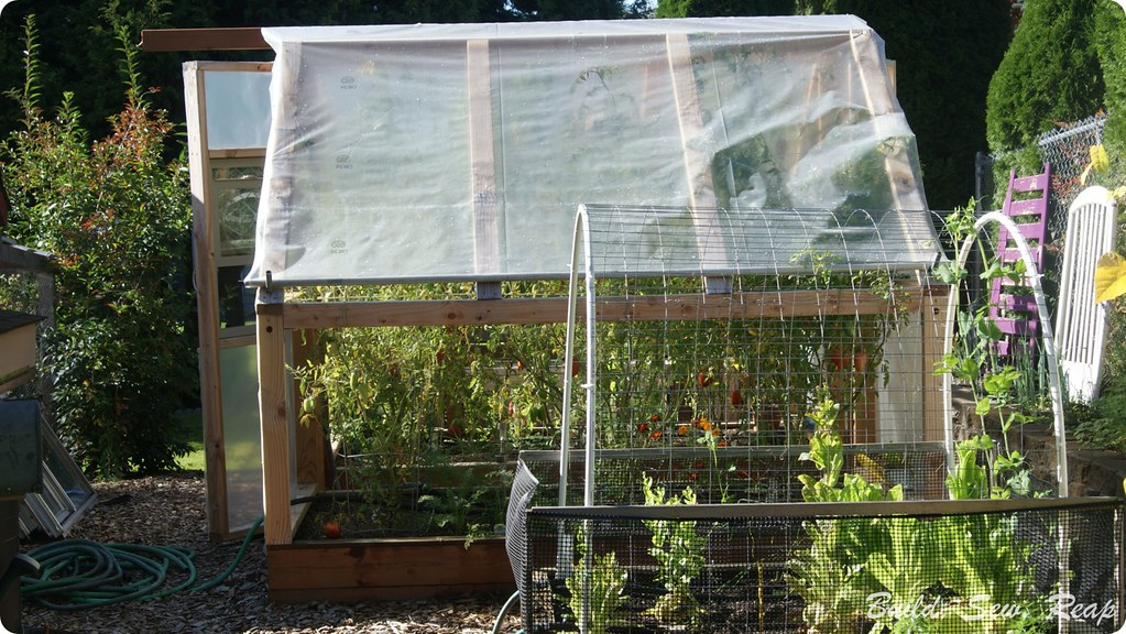 Build Sew Reap Simple Greenhouse