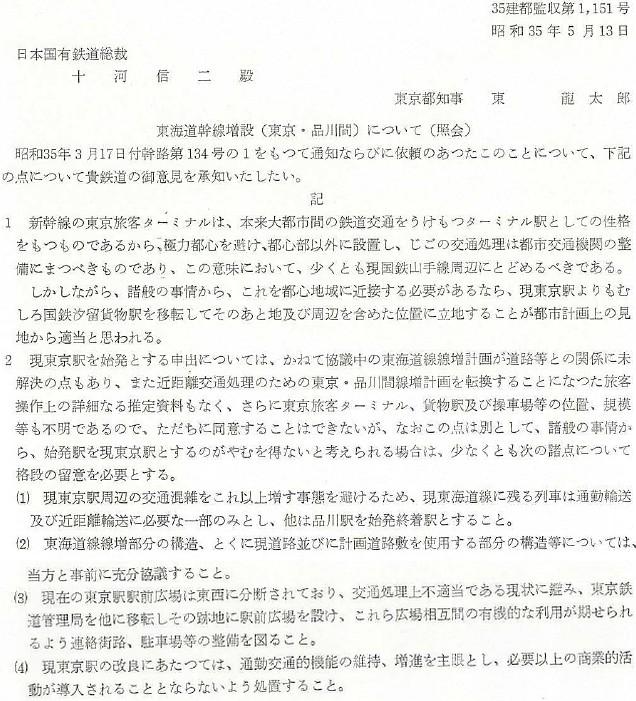 東海道新幹線東京駅案5