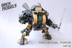 Brick Models - Mechanical Force HF-V1