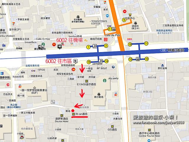 Hotel Rian地圖