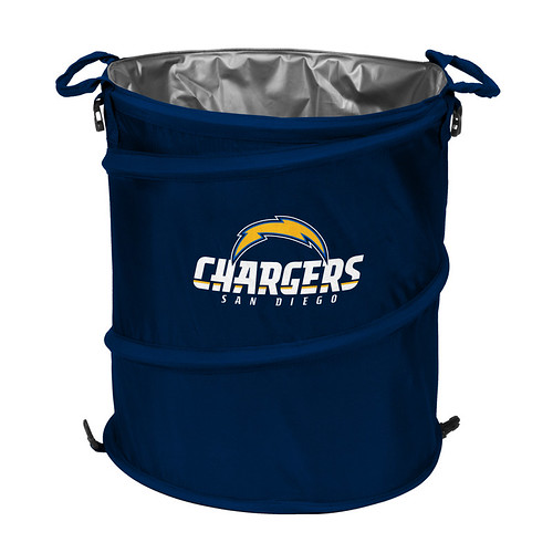 San Diego Chargers Trash Can Cooler
