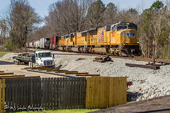 UP 5067   EMD SD70M   NS Memphis District