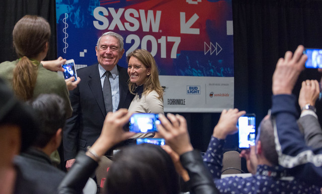 Dan Rather & Katy Tur @ SXSW 2017