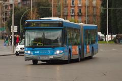 EMT de Madrid 442 por Atocha haciendo la línea 34