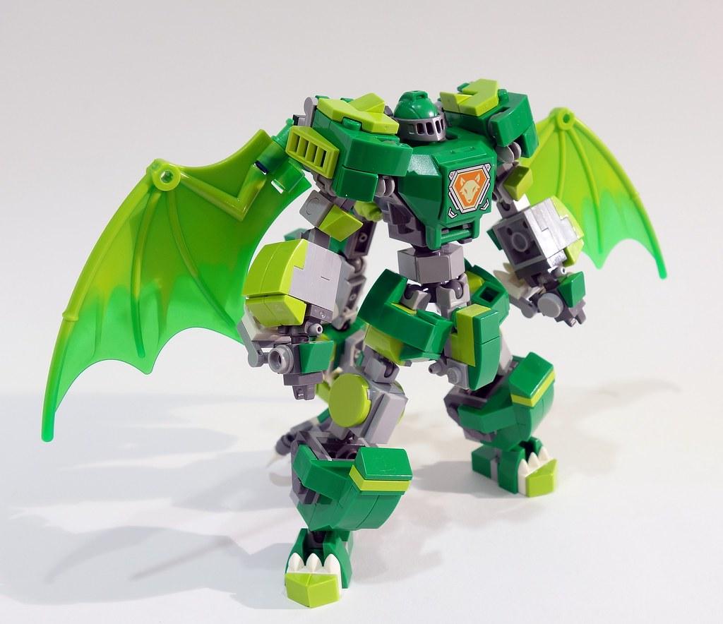 Aaron's Dragon Suit 2.0 (custom built Lego model)