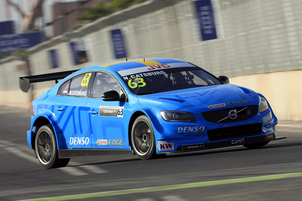 63 CATSBURG Nicky (ned) Volvo S60 Polestar team Polestar Cyan Racing action during the 2017 FIA WTCC World Touring Car Race of Morocco at Marrakech, from April 7 to 9 - Photo Paulo Maria / DPPI