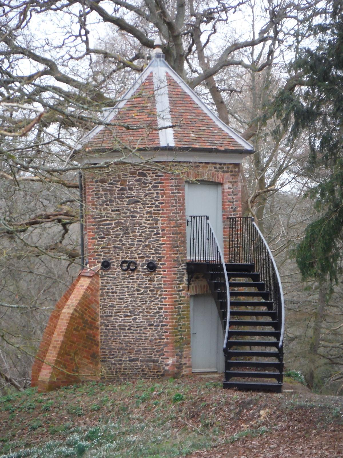 Hexagonal 'Dovecote', Tilhill House SWC Walk 144 Haslemere to Farnham