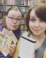 Girls' night out and what do we do? 📚📚📚 #buyallthebooks #homeschoolmoms #hotfridaynight