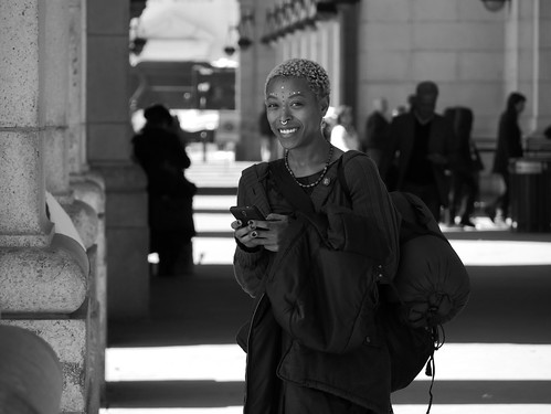 Woman at Union Station. Washington DC