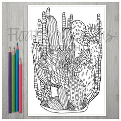 My printable Cactus Corner colouring page is now available over at etsy: http://etsy.me/2n5UoYq :) . #cactuscorner #cactuscoloringpage #coloringpage #colouringsheet #coloringtherapy #flcolor #floatinglemons #etsyseller #floatinglemonsetsy #creativetherapy