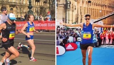 Homoláče neunavila ani 28hodinová cesta z Keni, Vrabcová první polovinu půlmaratonu přepálila