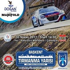 2017 Ankara Tırmanma Kupası Başkent Tırmanma Yarışı 30 Nisan 2017'de Çankaya Kömürcü Mahallesi'nde start alıyor!