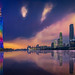 Guangzhou & Sunset by Luís Henrique Boucault