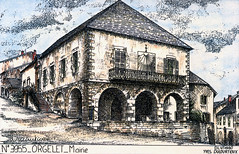 Hotel de ville d'Orgelet
