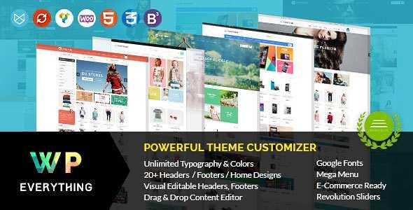 Everything WordPress Theme free download