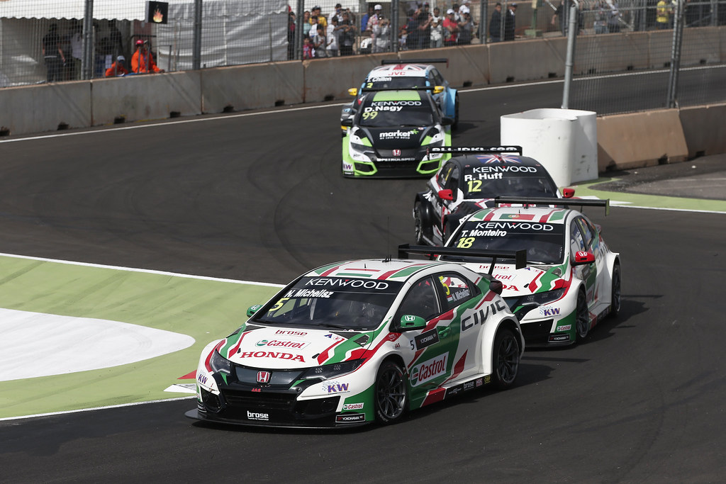 05 MICHELISZ Norbert (hun) Honda Civic team Castrol Honda WTC action during the 2017 FIA WTCC World Touring Car Race of Morocco at Marrakech, from April 7 to 9 - Photo Jean Michel Le Meur / DPPI.