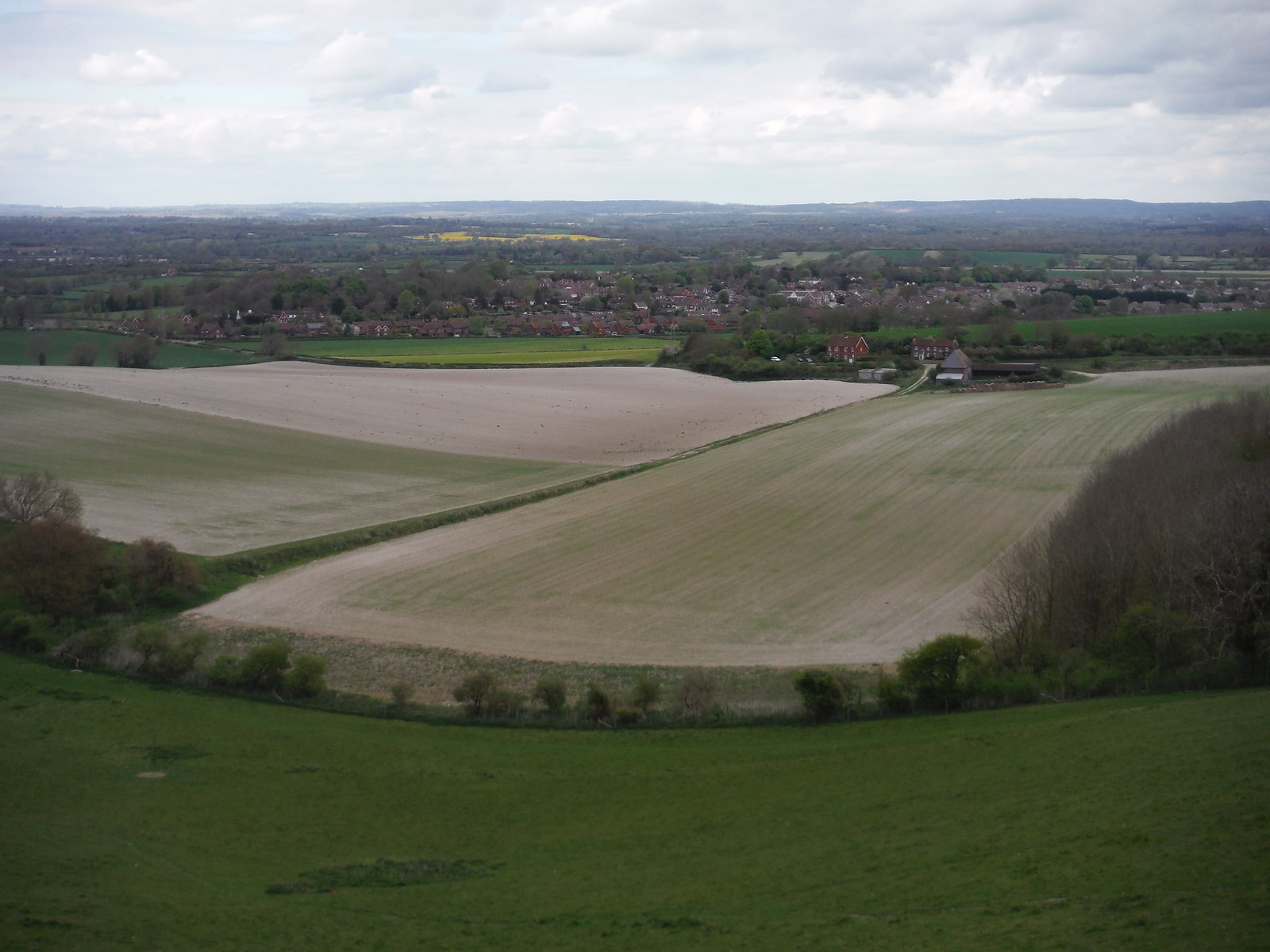 Ringmer, from Week Lane SWC Walk 272 Uckfield to Lewes