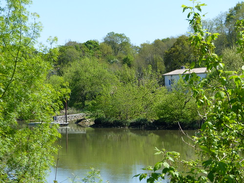 Saubusse, Landes: au bord de l'Adour.