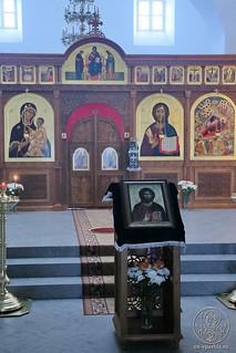 Литургия в Спасском соборе 200