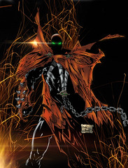 spawn digital drawing