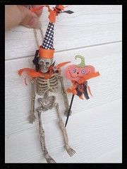 cute skeleton decoration