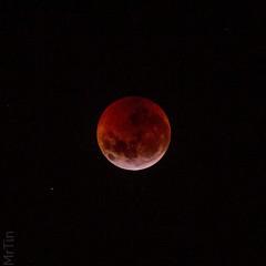 Eclipse en luna de sangre