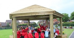 Outdoor Classrooms in Yarrowford #Outside #Classroom...