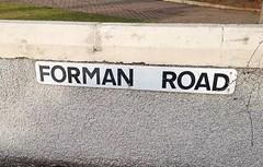 Forman Road.