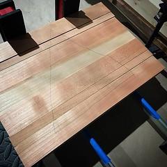 #cherry #wood #glueup #woodworking #weekendwoodworker