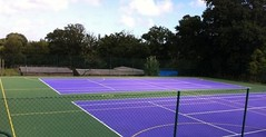MUGA Sports Lining in Bush Hill Park | Thermoplastic Playground...