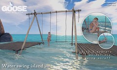 GOOSE - Water swing island