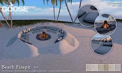 GOOSE - Beach Firepit