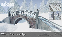 GOOSE - Winter Snowy bridge