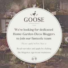 GOOSE blogger search sept 2020 B