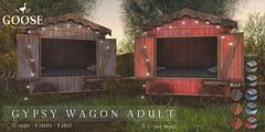 GOOSE - Gypsy wagon
