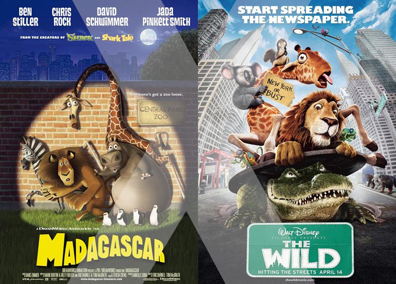 Madagascar Vs. Selvagem