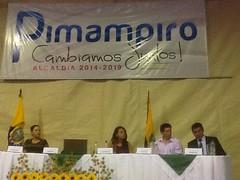 Alcalde Socialista en Pimampiro asumió funciones