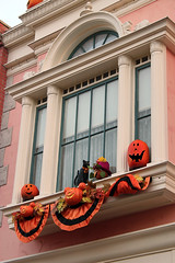 Halloween on Main Street USA