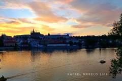 Praga desde el Moldava