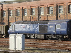 43097 a long way from home at Doncaster