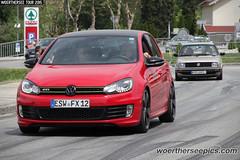 Red VW Golf Mk6 GTI
