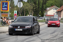 Black VW Golf Mk7 GTI