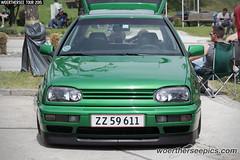 Green VW Golf Mk3