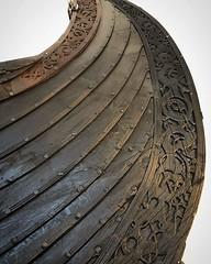 Viking ship detail