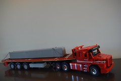 Scania T143M from 2legoOrNot2lego with 3-axle trailer
