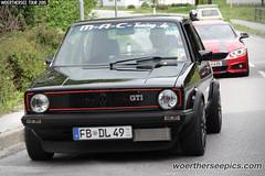 Black VW Golf Mk1 GTI M-A-C-Tuning