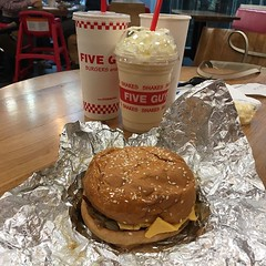 #fiveguys #burger